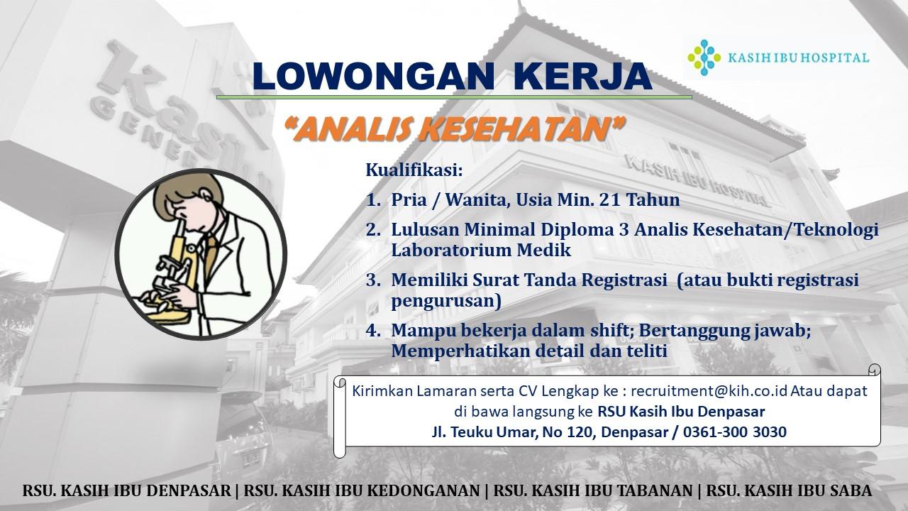 Bursa Lowongan Kerja Kota Denpasar